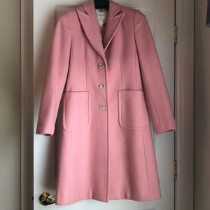Beautiful BR pink wool coat